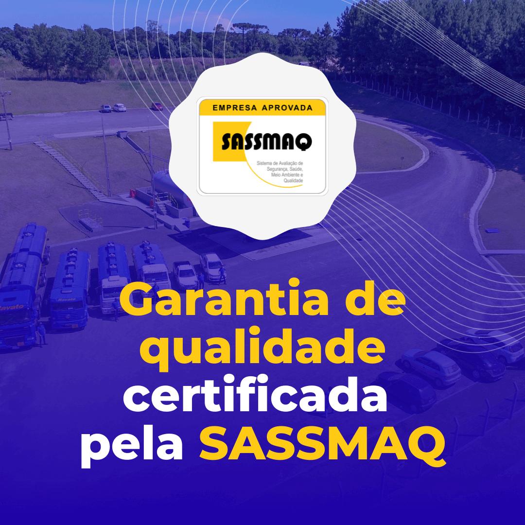 Ravato possui Certificação SASSMAQ